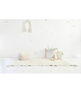 Alfombra lavable Cloud - crema - 120x160 cm
