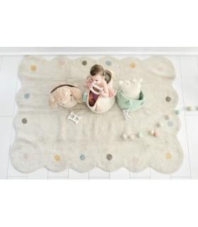 Alfombra lavable Nubes - malva - 120x160 cm