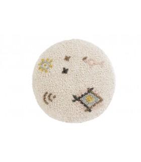 Alfombra lavable Estrellas - crema - 120x160 cm