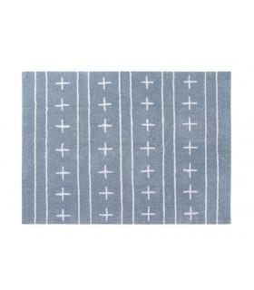 Cojín lavable Round Star - gris - 30x30 cm