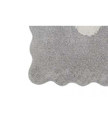 Alfombra lavable Four Stars - rosa - 120x160 cm