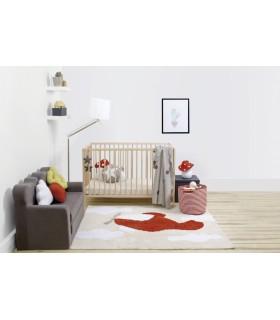 Manta de punto Bebé Little Stars - rosa-blanco - 90x120 cm