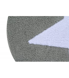 Alfombra lavable Cloud - gris - 120x160 cm